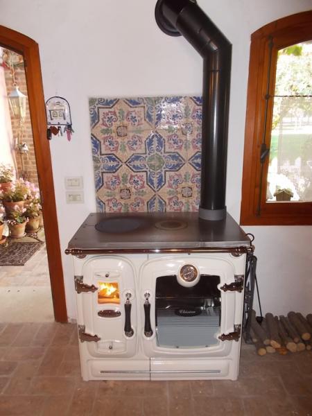 Cucina a legna Lacunza mod. Clssica 7